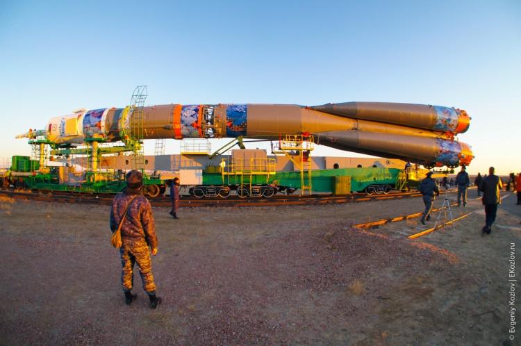 Baykonur - Souz TMA-11M transfer-28