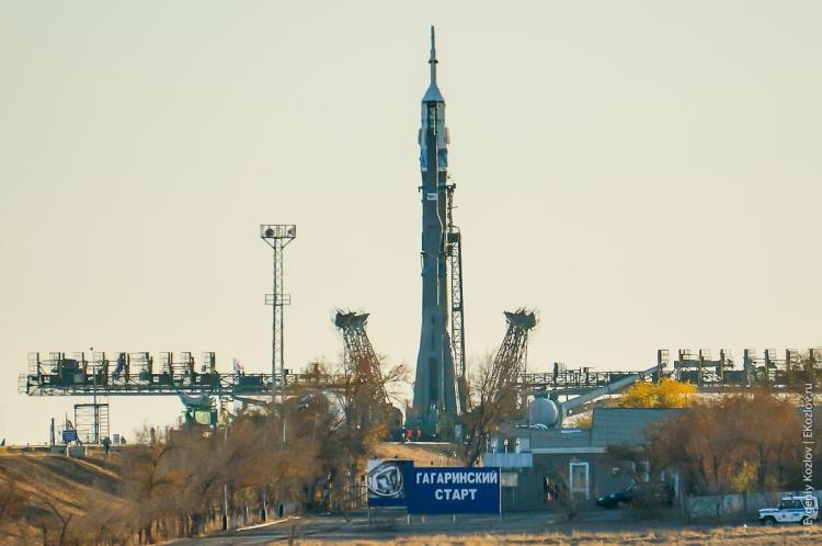 Baykonur - Souz TMA-11M transfer-50