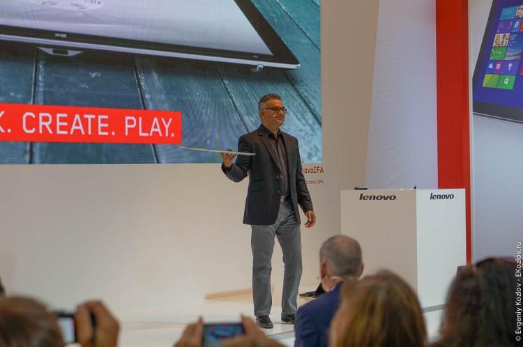 Lenovo presentation IFA 2014-15