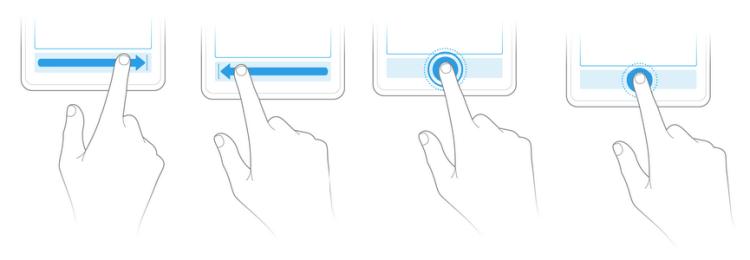 YotaPhone gestures
