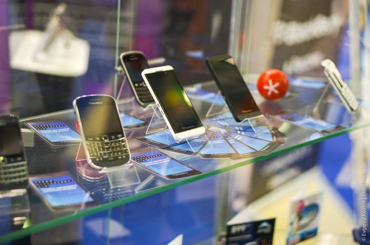 BlackBerry SvyazExpoComm 2013-2