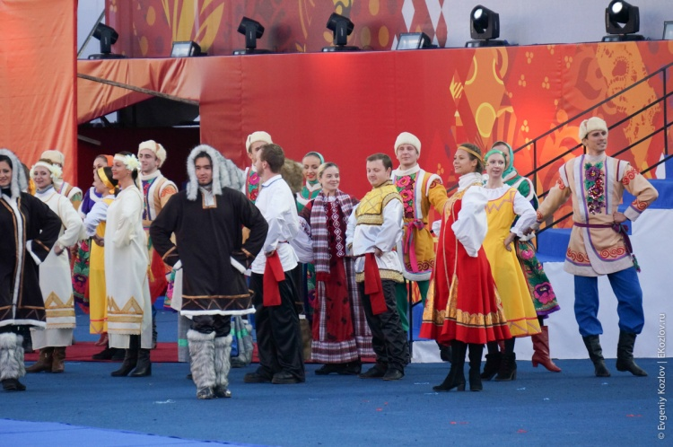 Olympic torch relay Sochi 2014 start in Russia-71