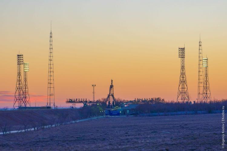 Baykonur - Souz TMA-11M transfer-4