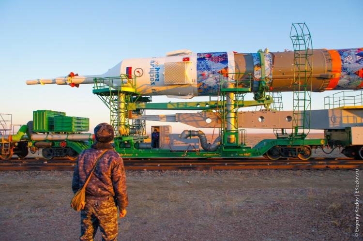 Baykonur - Souz TMA-11M transfer-30