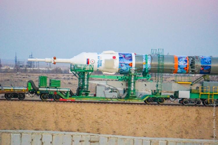 Baykonur - Souz TMA-11M transfer-17