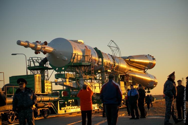 Baykonur - Souz TMA-11M transfer-33