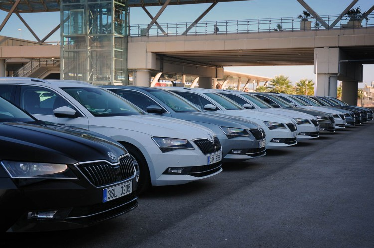 Skoda Superb in Spain 2015-29
