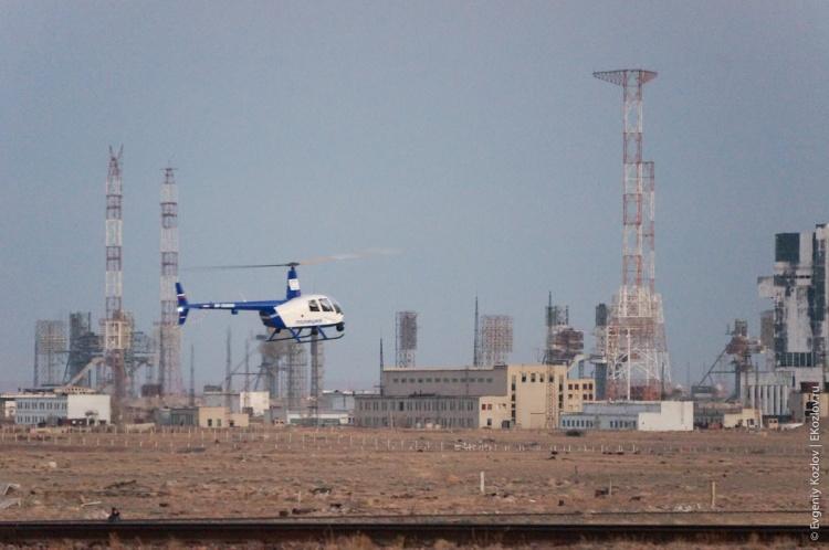 Baykonur - Souz TMA-11M transfer-7