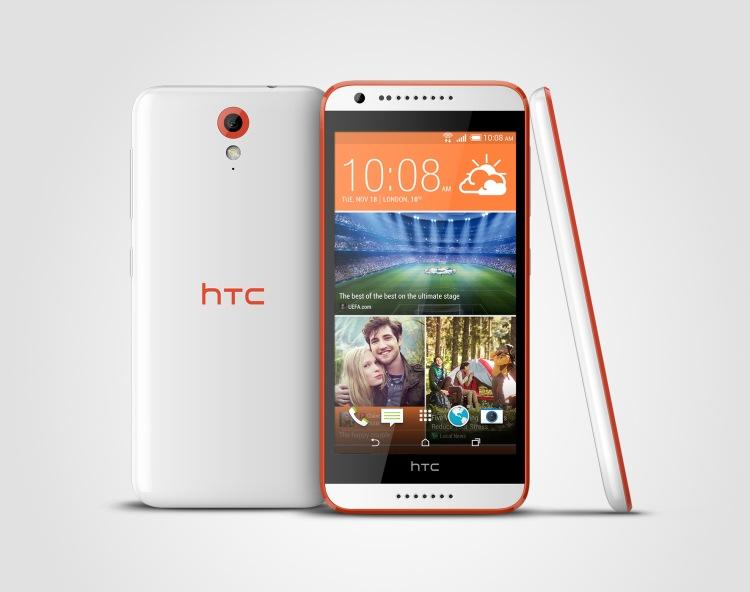 HTC Desire 620_3V_TangerineWhite