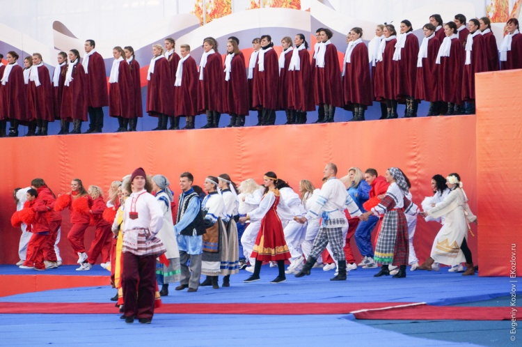 Olympic torch relay Sochi 2014 start in Russia-64