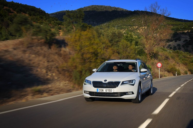 Skoda Superb in Spain 2015-108