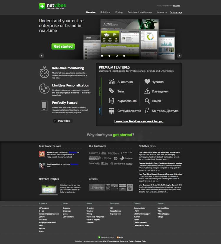 Netvibes – Social Media Monitoring, Analytics and Alerts Dashboard