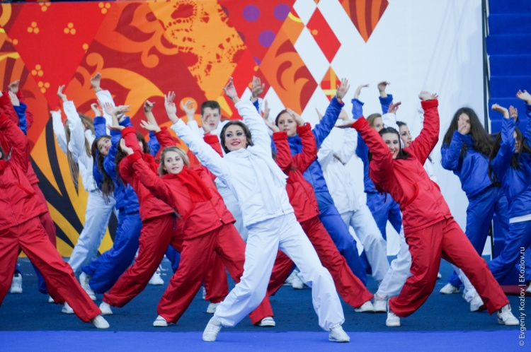 Olympic torch relay Sochi 2014 start in Russia-114