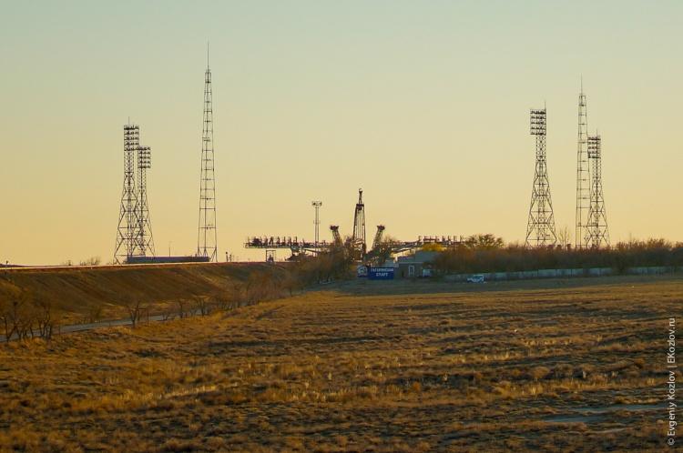 Baykonur - Souz TMA-11M transfer-42