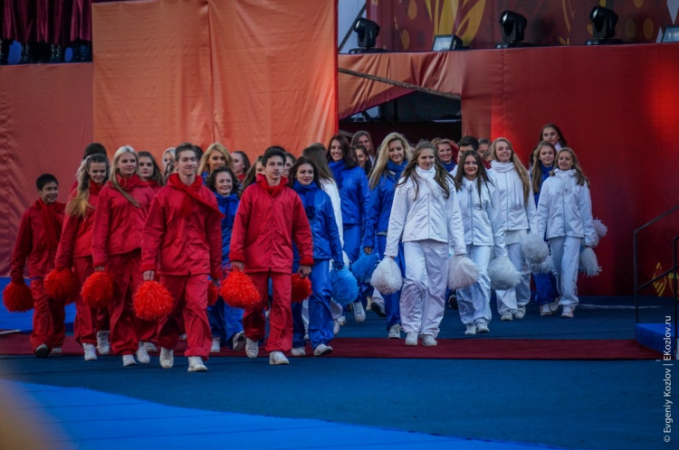 Olympic torch relay Sochi 2014 start in Russia-54
