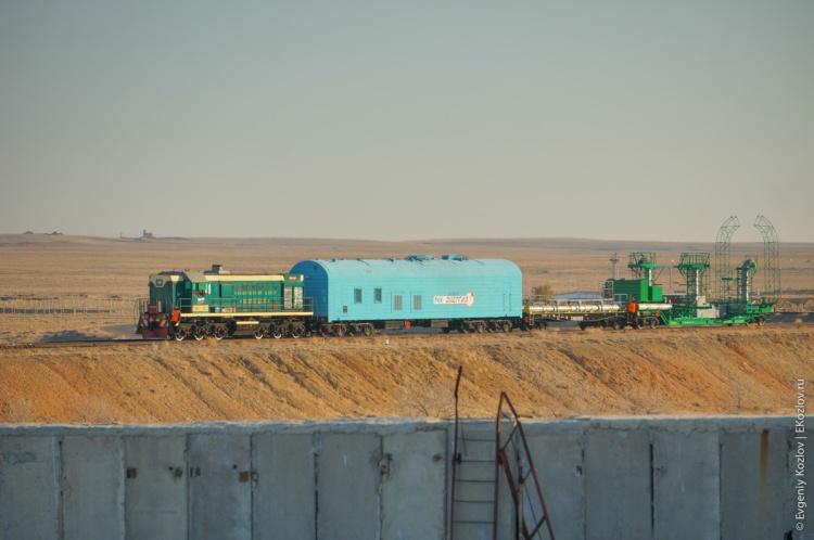 Baykonur - Souz TMA-11M transfer-59