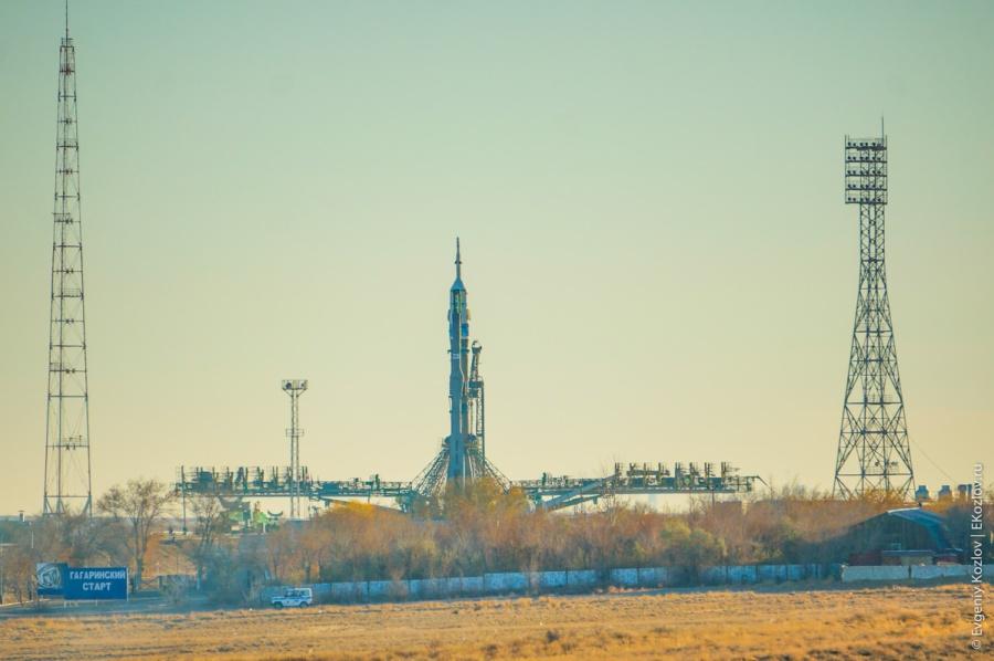 Baykonur - Souz TMA-11M transfer-60