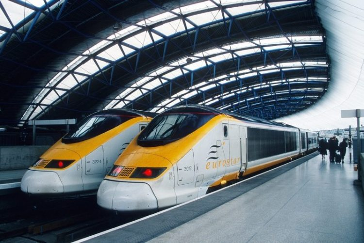 8. скоростной поезд Eurostar