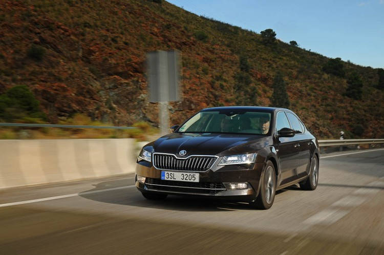 Skoda Superb in Spain 2015-50