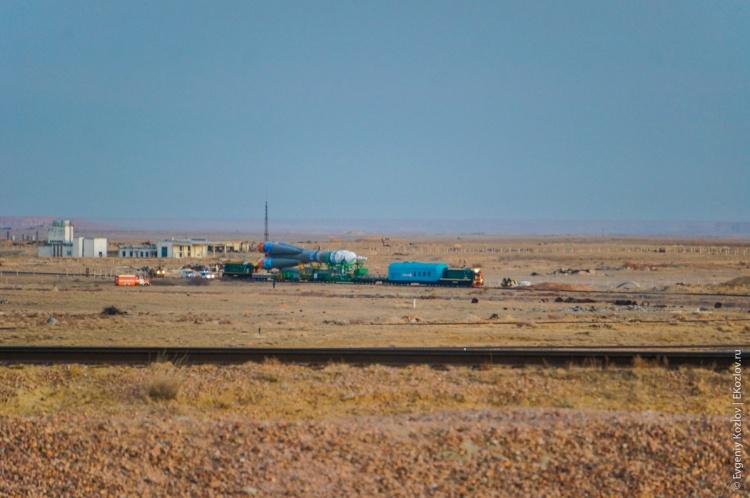 Baykonur - Souz TMA-11M transfer-8